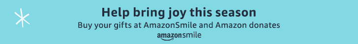 Shop this holiday at Amazon Smiles